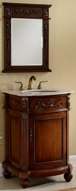 12 Inch To 29 Inch Wide Vanities Ornate Sink Vanity Antique