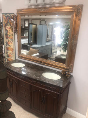 63 Inch Utah Vanity 63in Single Sink Vanity Mahogany Single Sink Vanity