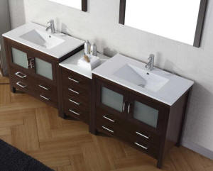 bathroom sink and vanity. Vanity Overall Dimensions  89 In L X 22 W 36 H Wood Material Solid Oak With Hard Plywood Panels And Melamine 80 Inch Over Vanities Bathroom Sink Double Sink Vanity
