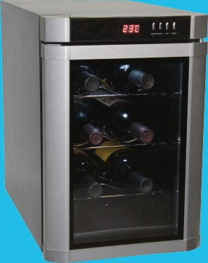 Haier Countertop Wine Cellar 6 Bottle Vase And Image