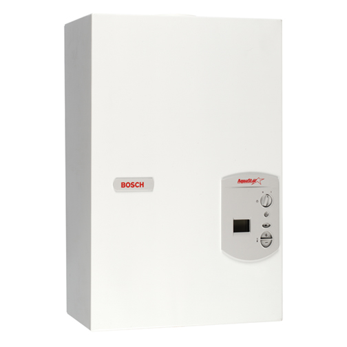 Tankless Gas & Propane Water Heaters: Tankless Electric Water Heaters . Bosch AquaStar 2700ES Bosch's most powerful tankless water heater (199,000 BTUs