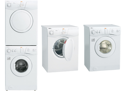 true space saving feature danby s washer and dryer set are designed