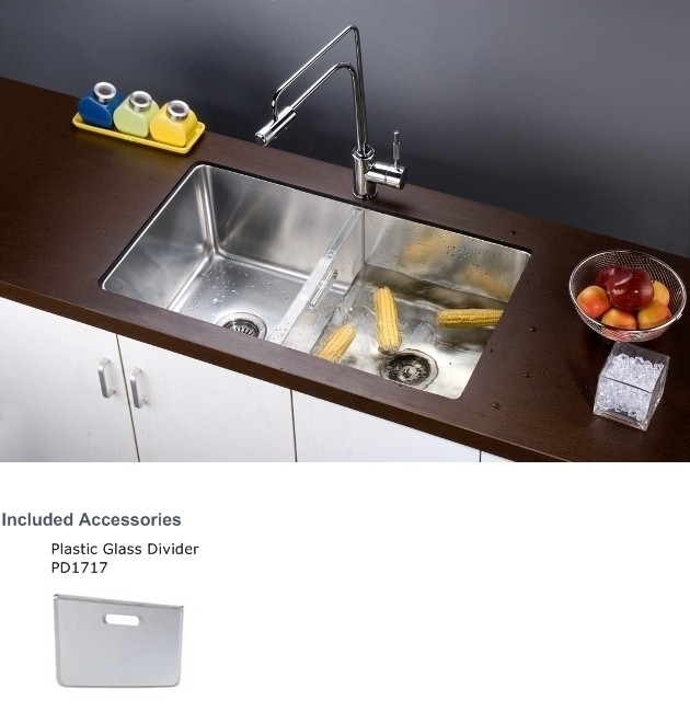 Single Bowl Kitchen Sink Divider