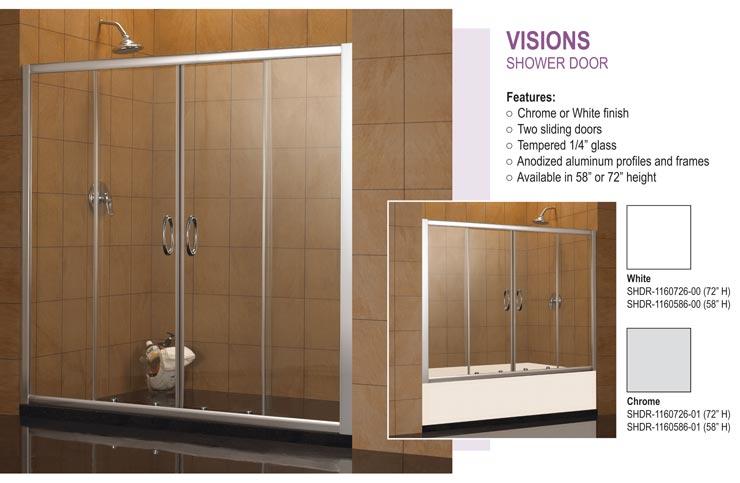 shower shop to in frameless brushed pivot pd door elegance dreamline nickel