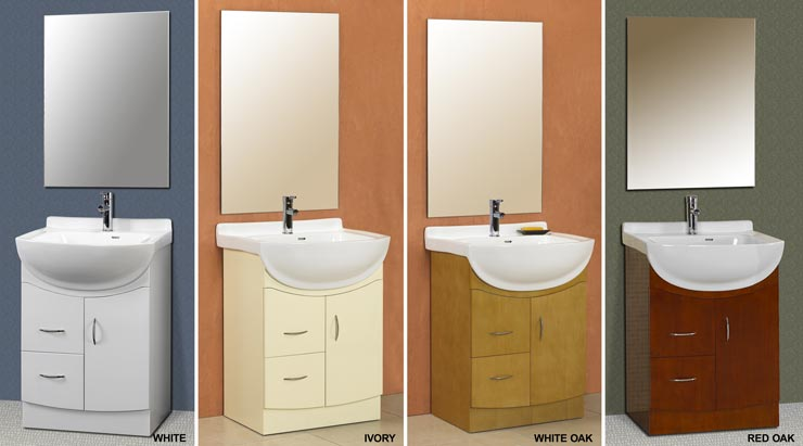 Euro style vanities modern sink cabinets european for European style bathroom