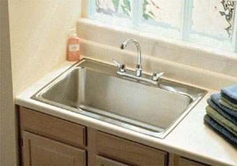 Charming Elkay Drop In Kitchen Sink.
