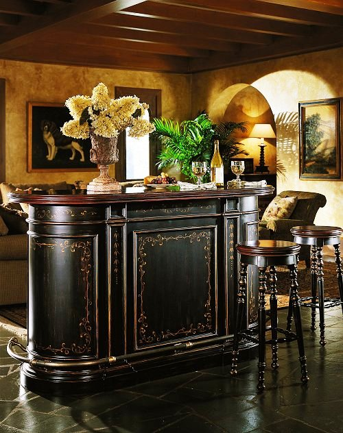 Hooker Furniture Bar Cabinets