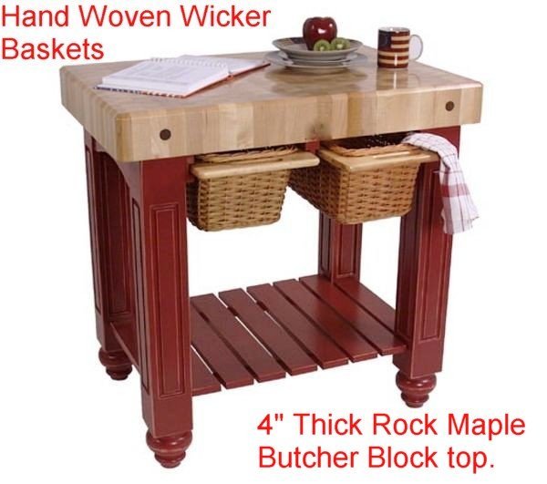 Kitchen Islands & Worktables