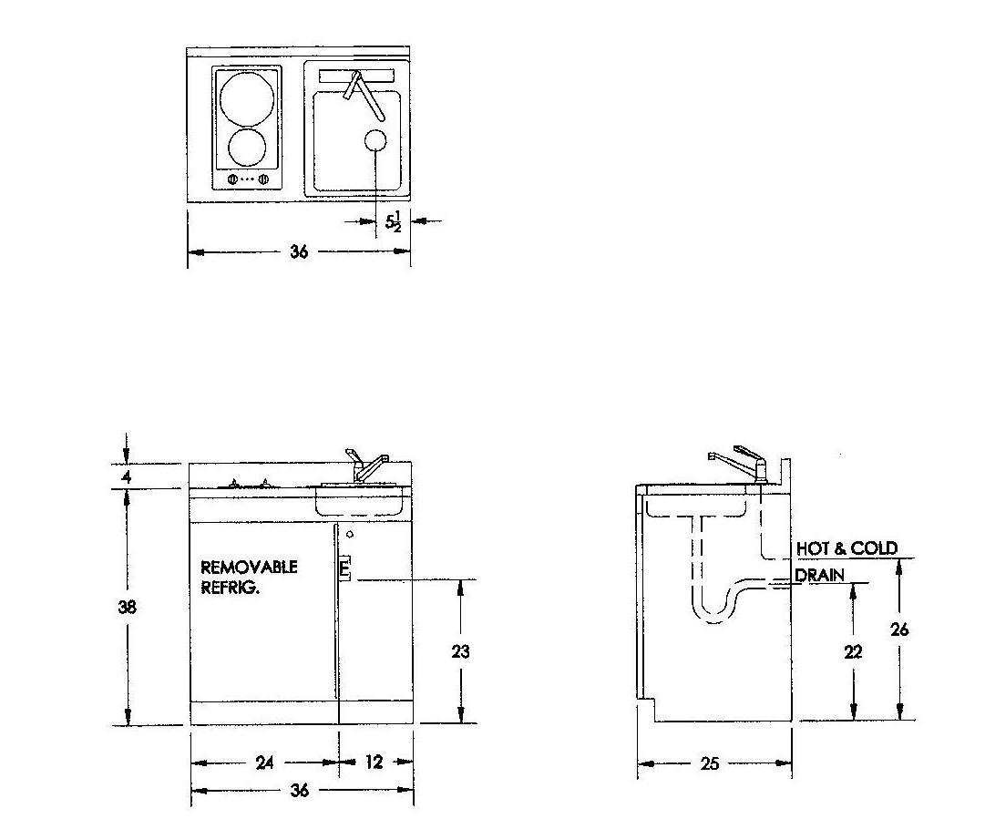 Kitchen Sink Unit Sizes: Custom Kitchen Model