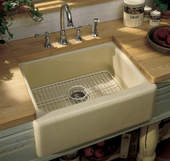 Best Apron Front Sink : ... Kitchen Sinks Fireclay Kitchen Sinks Decorative Kitchen Sinks