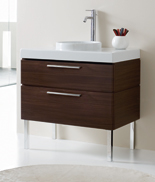 33 Inch Savoy Vanity Contemporary Bathroom Vanity