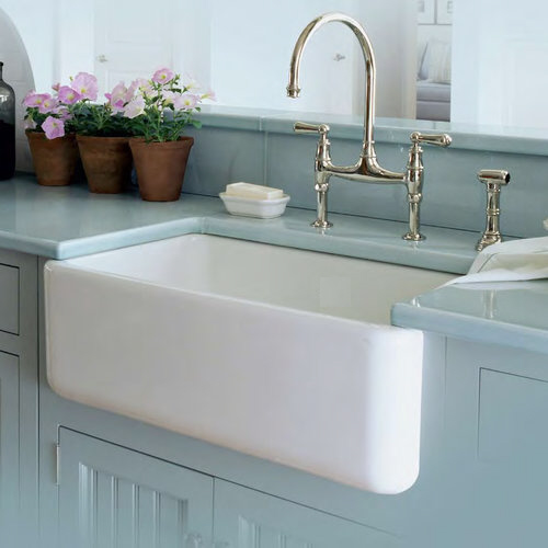 Fireclay Kitchen Sinks Fireclay Single Bowl