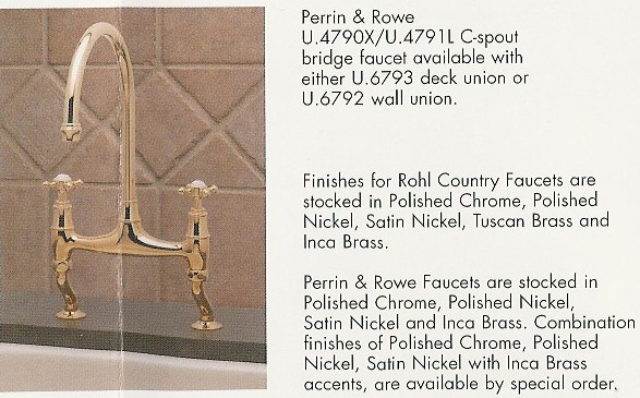 Rohl Kitchen Faucets