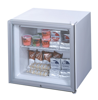 Summit appliances front opening freezer with glass door and front mounted lock it is capable of 20c operation and is commercially approved etl s meets nsf 7 planetlyrics Gallery