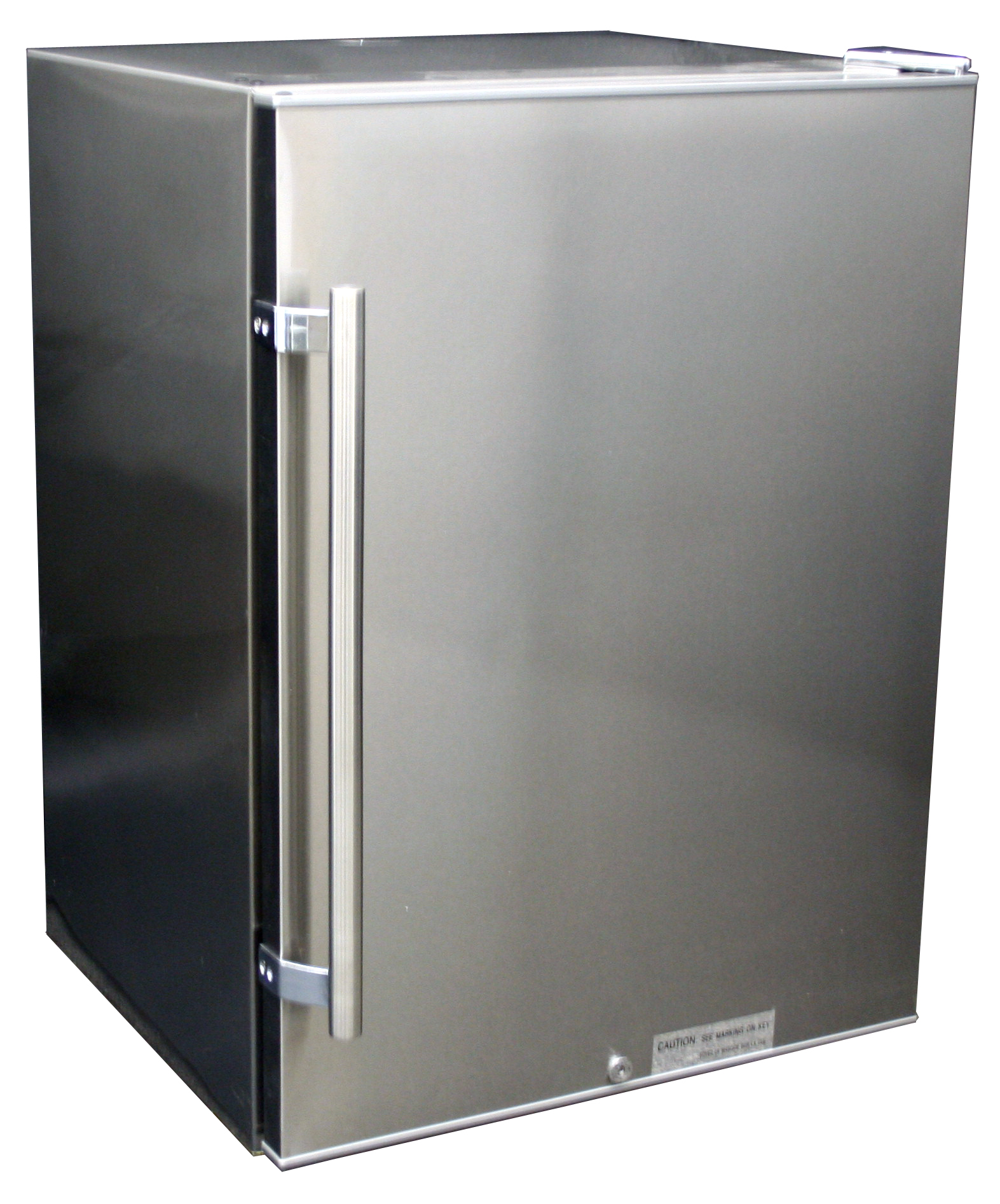 New - Counter Height Two Door Refrigerator Freezer Stainless bunda ...
