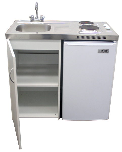 39-inch Compact Kitchen Unit