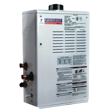 Bosch PowerStar Electric Tankless Hot Water Heaters Bosch PowerStar AE-Series Tankless Water Heaters are available for 'Central' (AE115, AE125) and 'Point Of Use