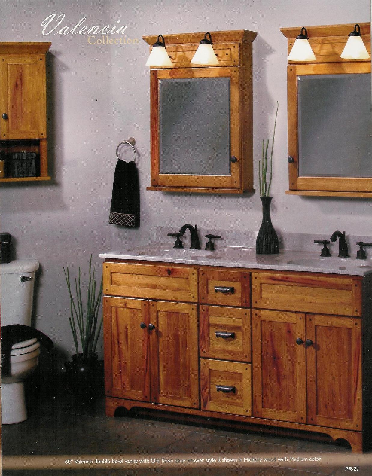 Hickory Medicine Cabinet With Mirror Amp Eo83