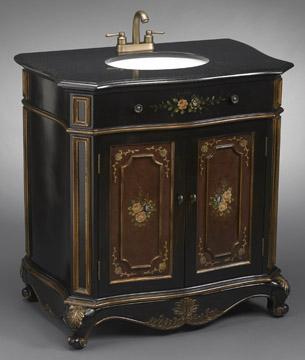 Inch Wide Vanities Ornate Sink Vanity