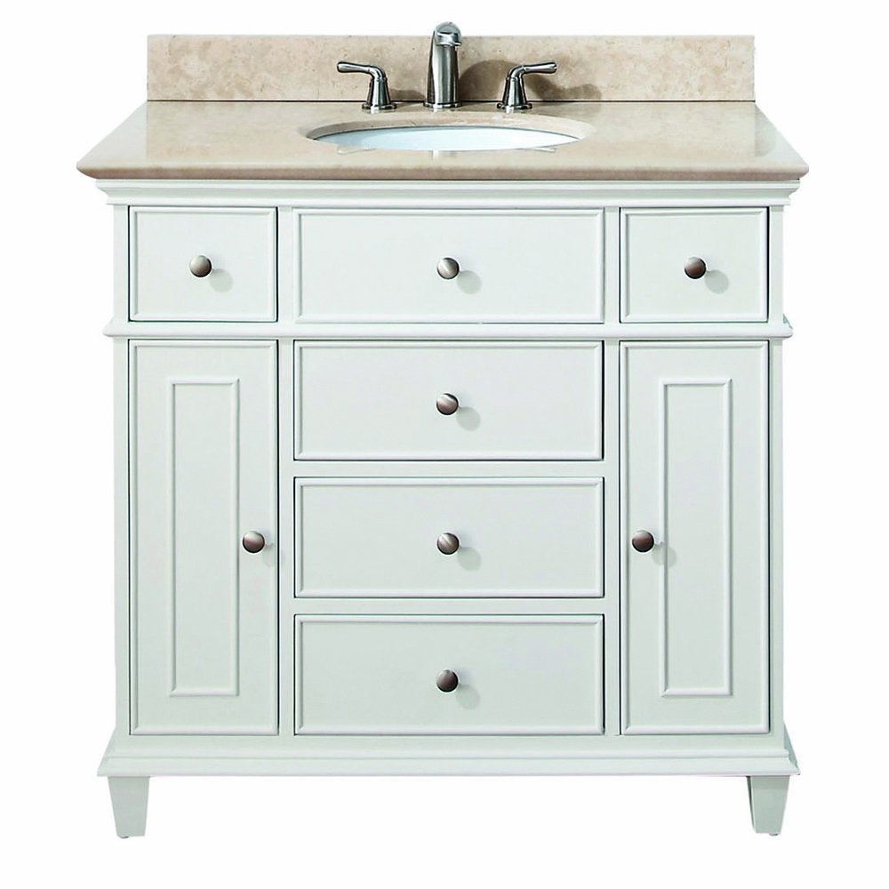 30 inch to 48 inch vanities single bathroom vanities for Bathroom 30 inch vanity