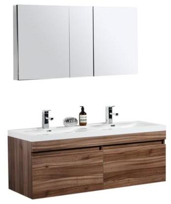Unusual Tiled Baths Showers Tiny Tall Bathroom Vanity Height Flat Italian Bathroom Design Ideas Clean Bathroom Sink Drain Trap Old Kitchen Bath Design Center Bedford DarkBathroom Fitting Costs Homebase 50 To 59 Inch Vanities | Makeup Sink Vanity | Large Sink Vanity