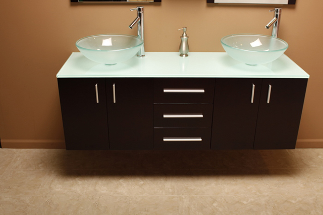 Amazing Frosted Glass Countertop