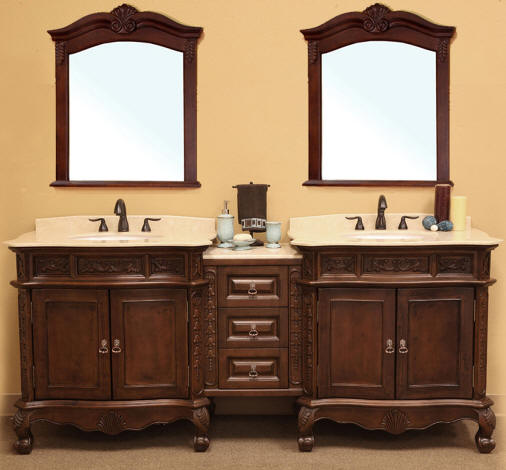 80 inch and over Vanities | Bathroom Sink Vanities | Double sink ...