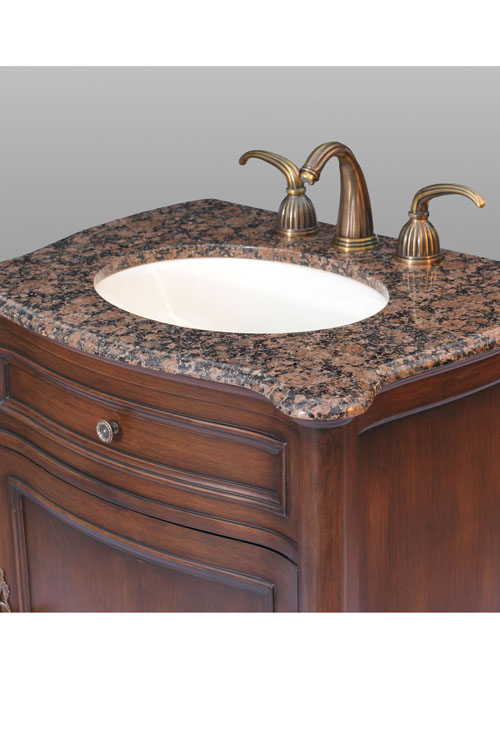 all vanities ship with sink counter top faucets sold separately