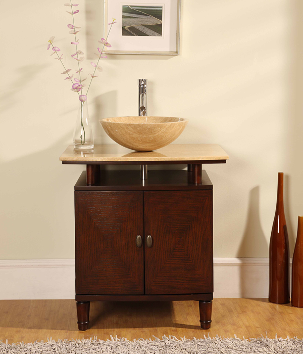 amazing Complete Vessel Sink Vanity Part - 9: Kitchenlav
