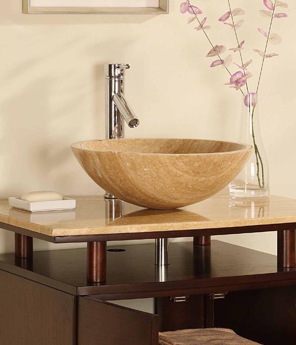 Click photo to enlarge47 Inch Oregon Vanity   Single Vanity Sale   Space Saving Vanity. Silkroad Exclusive Travertine Stone Top 29 Inch Bathroom Vanity. Home Design Ideas