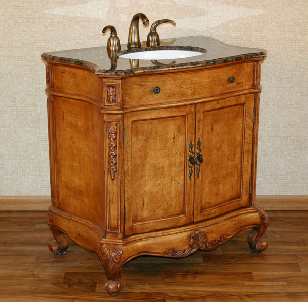 34 Inch Vanity 34 Inch Jake Vanity 34 Inch Single Bathroom Vanity With Marble Top Traditional