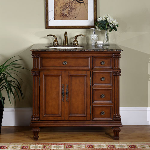 36-inch sinclair vanity | baltic brown vanity 36 Bathroom Vanity