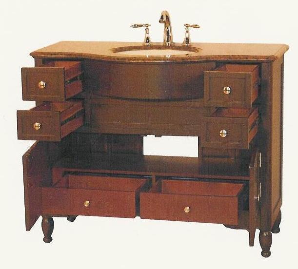 45 inch trish vanity. Black Bedroom Furniture Sets. Home Design Ideas