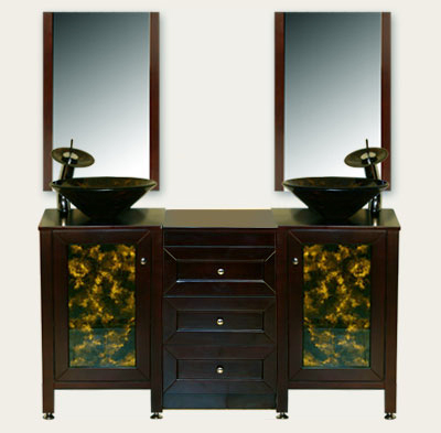 *Faucets (as Shown In Product Photo) Included With The Ingrid Vanity.