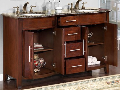 Delighted Spa Inspired Small Bathrooms Tall Painting Bathroom Vanity Pinterest Regular Bathroom Addition Ideas Wall Mounted Magnifying Bathroom Mirror With Lighted Old Lowes Bathroom Vanity Tops WhiteRebath Average Costs 58 Inch Monaco Vanity | Dark Chestnut Finish | Double Vanity Set