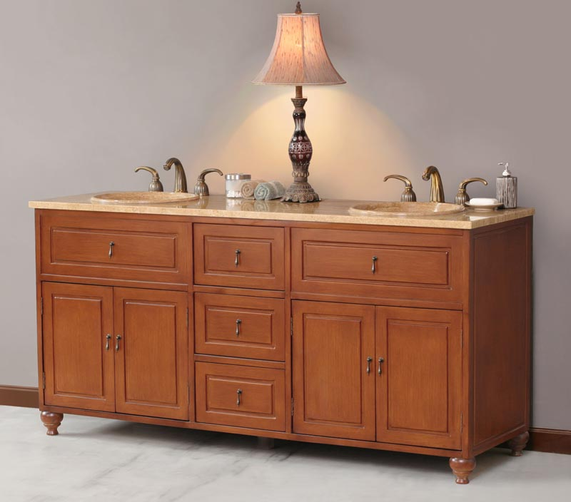 72 inch joan vanity double sink vanity double sink for Bathroom cabinets 72 inches