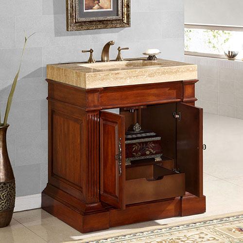 83-Inch Crown Vanity | Large Bathroom Vanity | Large ...