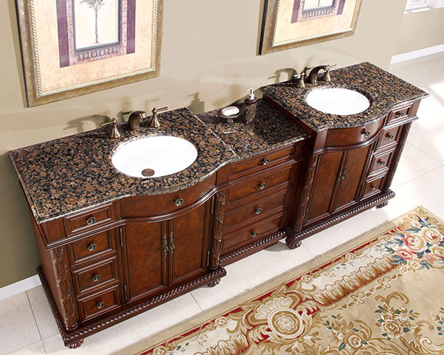 90 Inch Marley Vanity Extra Large Sink Chest 90 Inch