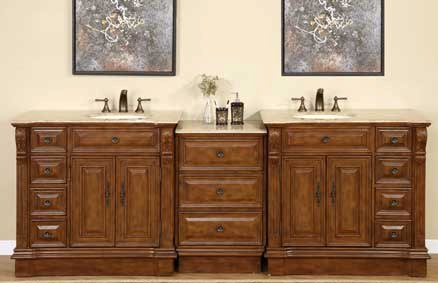 90 Inch Double Bathroom Vanity bathroom vanities | single & double bathroom vanity cabinets