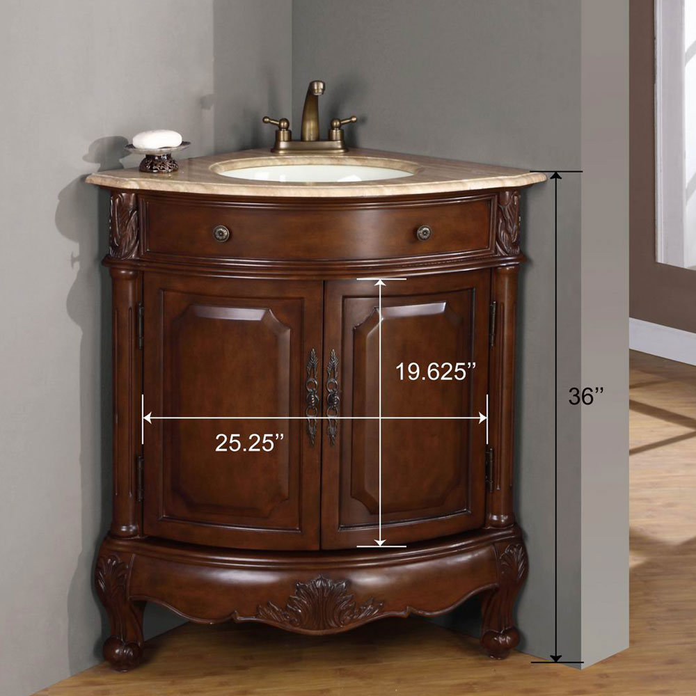 Peaceful Average corner bathroom sink vanity cabinet Loveable Peaceful