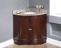 38 Wide Lexy Corner Sink Vanity With Backsplashes This Product Is Now Discontinued