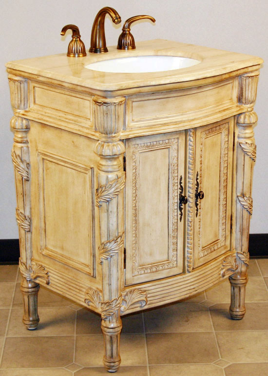 26 Inch Largo Vanity French Country Style French Style