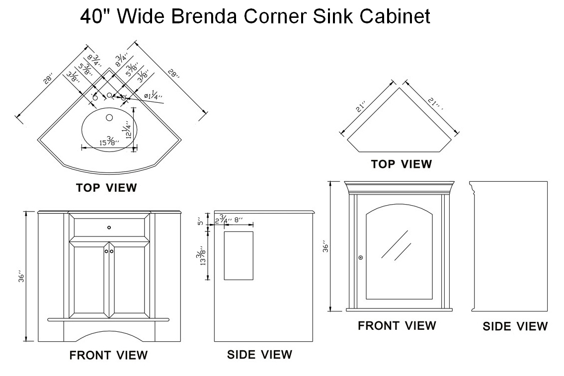 Corner Kitchen Sink Dimensions : Hampton bay 36x34 5x24 in hampton corner sink base, Thank you for your ...