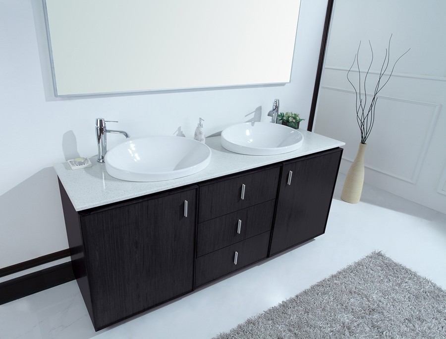 Double Sink Vanities | Large Bathroom Vanities | Double Sink Cabinets