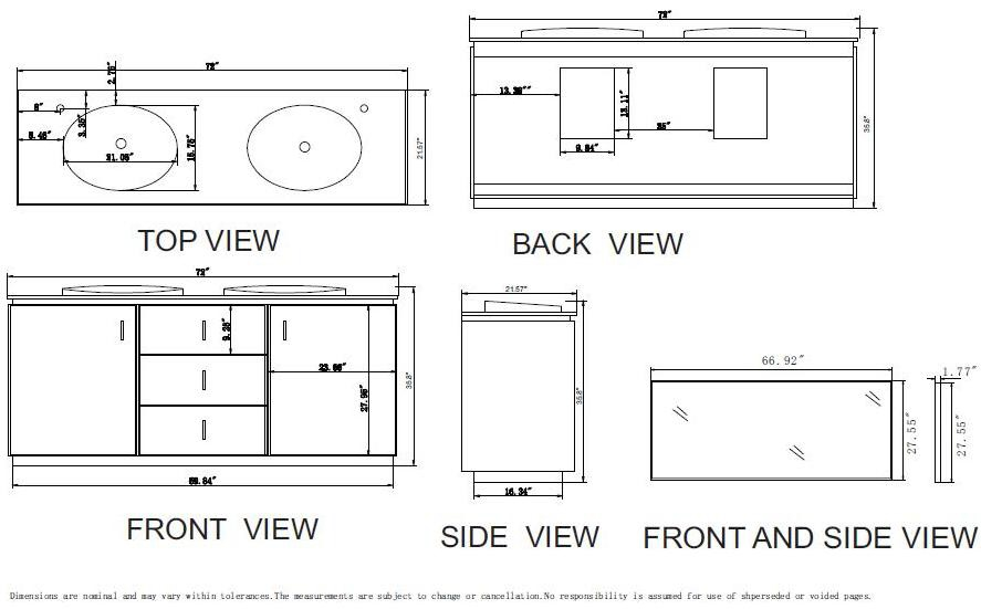 width of double vanity. 72inch cyrus vanity espresso double large sink  sizes ideas best inspiration home Toilet Standard Dimensions From Wall