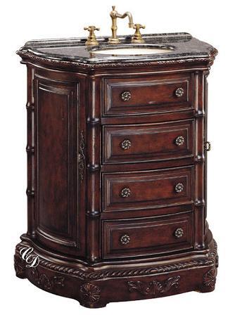 33 inch mena vanity for Bathroom cabinets 33