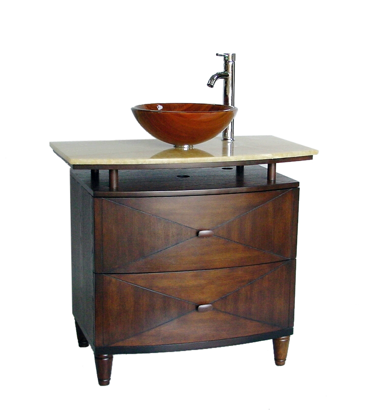Bowl Sink Vanity : Contemporary Style Vanities Modern Bathroom Vanity Contemporary ...