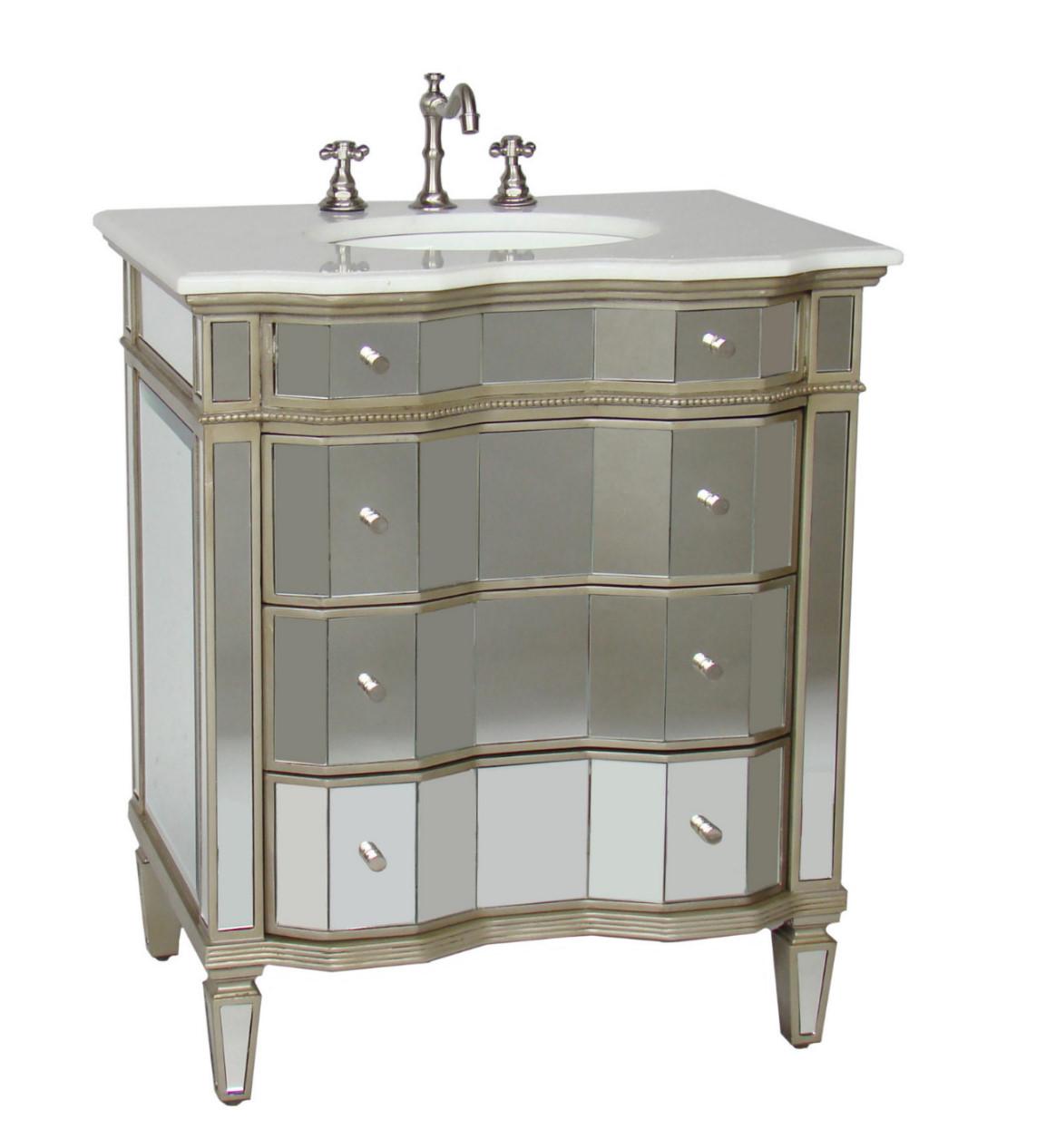 more 30 47 inch vanities vintage sink vanities modern. Black Bedroom Furniture Sets. Home Design Ideas