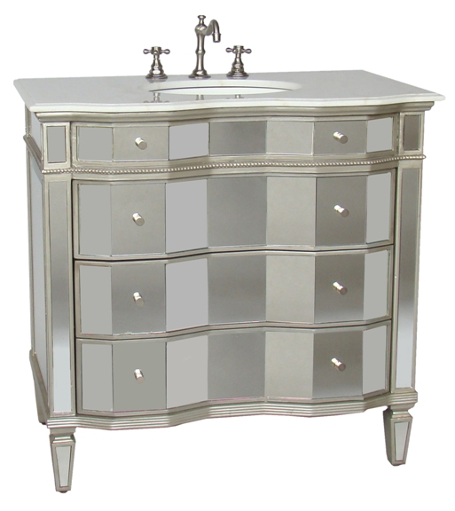 30 inch jamie vanity mirrored sink chest mirrored sink for 30 wide bathroom vanity
