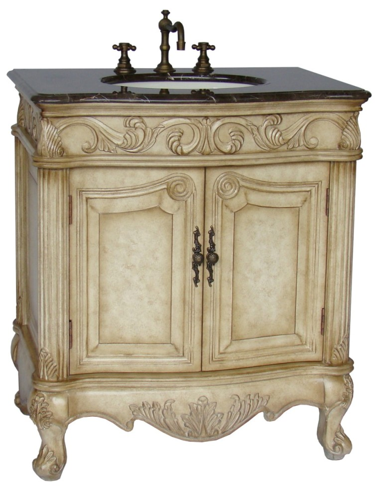 32 inch harrison vanity marble top vanity bathroom - Bathroom vanities 32 inches wide ...